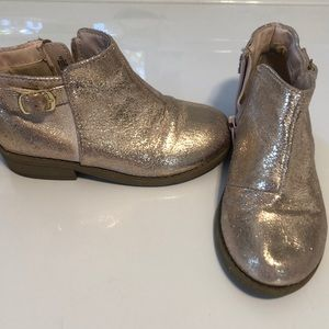 Girls ankle boots / booties size 10 cat & jack